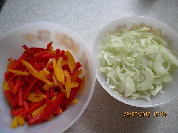 Eingemachtes: süß-sauer eingelegte Zucchini - Rezept - Bild Nr. 6116