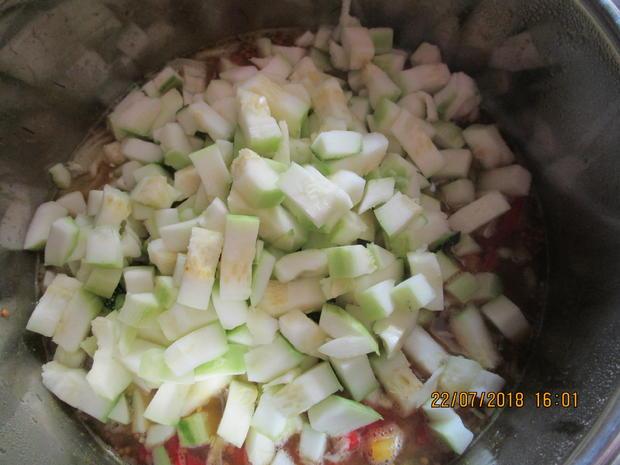 Eingemachtes: süß-sauer eingelegte Zucchini - Rezept - Bild Nr. 6129