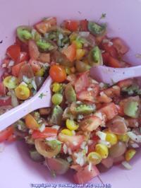 Biggi`s Salate = Tomatensalat schnell zubereitet und im Geschmack sehr erfrischend - Rezept - Bild Nr. 6111
