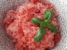 Wassermelonen-Granita mit Basilikum - Rezept - Bild Nr. 6148