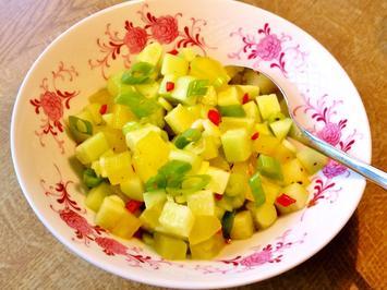 Rezept: Salat-Variation mit Gurken