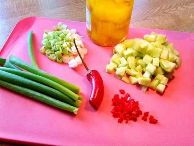 Salat-Variation mit Gurken - Rezept - Bild Nr. 4