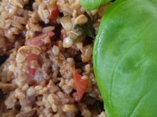 Tabouleh ein Orientalischer Bulgur-Salat - Rezept - Bild Nr. 2