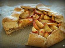 Kuchen: Pfirsich-Galette - Rezept - Bild Nr. 2