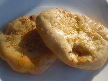 Garlic-Naan (Knoblauch-Naan)-Brot für den Grill - Rezept - Bild Nr. 2