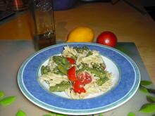 Bohnensalat mit Nudeln und Tomaten - Rezept - Bild Nr. 6944