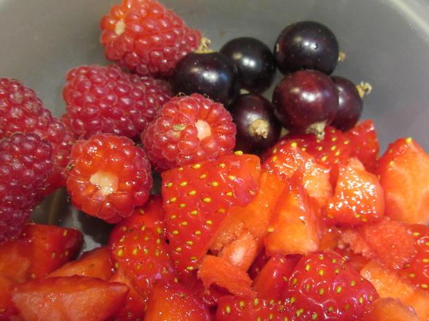 Vollkost: Over-Night-Oats mit Joghurt frischen Früchten - Rezept - Bild Nr. 6196