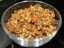 Vorrat: Knuspermischung mit Körnern und Trockenfrüchten - Rezept - Bild Nr. 6191