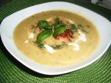 Zucchinisuppe mit Lachs - Rezept - Bild Nr. 6192