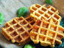 Pikante Karotten-Kichererbsen-Waffeln - Rezept - Bild Nr. 2