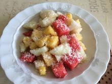 3er Melonen-Salat für heiße Tage - Rezept - Bild Nr. 6196