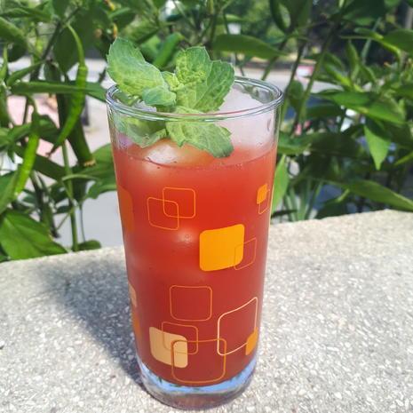Erfrischende Wassermelonen-Limonade mit Minze - Rezept - Bild Nr. 3