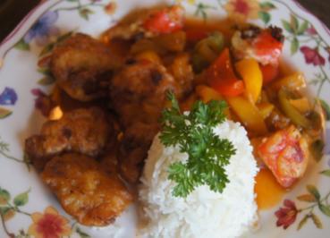 Hühnerbrustfilet süß-sauer mit Basmatireis - Rezept - Bild Nr. 2