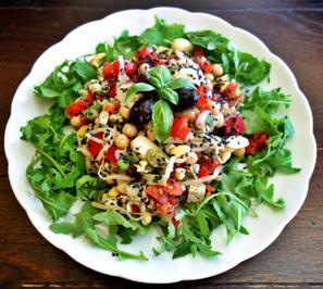 Rezept: Alles-drin-Salat