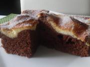 Schokoladenkuchen mit Schmand-Haube und Zuckerkruste - Rezept - Bild Nr. 6214