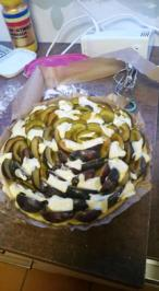 Zwetschgenkuchen mit Vaniliepudding und Zimtstreusel - Rezept - Bild Nr. 6221