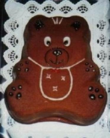 Teddybär - Rezept