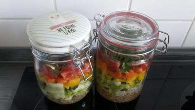 Salat aus dem Glas - Rezept - Bild Nr. 6225