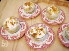 Beschwipster Apfel, Semmelbrösel und Zitronenmascarpone - Rezept - Bild Nr. 2