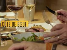 Côte de Boeuf mit Maximekartoffeln und Wildkräutersalat (Frank Buchholz) - Rezept - Bild Nr. 6230