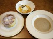 Soufflé von weißer und dunkler Schokolade mit Mango-Salat (Harald Wohlfahrt) - Rezept - Bild Nr. 6230