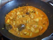 Hähnchenbrustfiletcurry mit Gemüse, Kartoffeln und Basmatireis - Rezept - Bild Nr. 6230