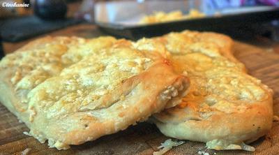 Pizzabrot mit Knoblauch - Rezept - Bild Nr. 2