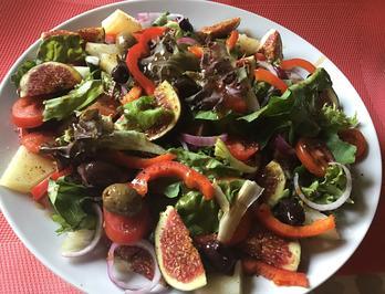 Gemischter Salat mit Feigen und Manchego - Rezept - Bild Nr. 2
