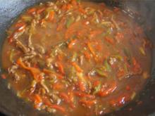 Rindfleischstreifen mit Paprika - Rezept - Bild Nr. 6230