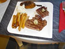 T-Bone Steak mit gebratenen Spargel und Fächerkartoffel - Rezept - Bild Nr. 6241