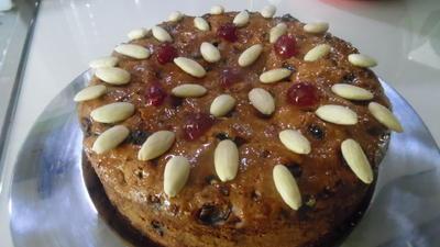Rezept: Dundee-Cake