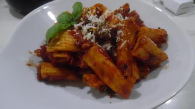 Tomaten-Tortiglioni mit Parmesan - Rezept - Bild Nr. 6243
