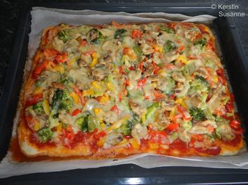 Gemüse-Pizza - Rezept - Bild Nr. 6237