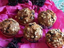 Holunderbeer Muffins - Rezept - Bild Nr. 2