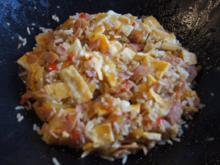 Gebratener Reis mit Schinken und Ei - Rezept - Bild Nr. 6238