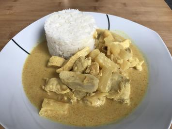 Rezept: HUHN ANANAS CURRY