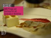 Süße Pierogi auf Himbeerspiegel mit Vanilleparfait und Vorderwürzereduktion - Rezept - Bild Nr. 6238