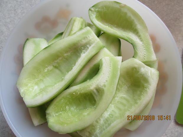 hackfleischpfanne mit gurkengemüse - Rezept - Bild Nr. 6245