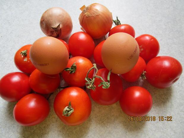 hackauflauf aus: zucchini, paprika, tomaten und kartoffeln - Rezept - Bild Nr. 6242