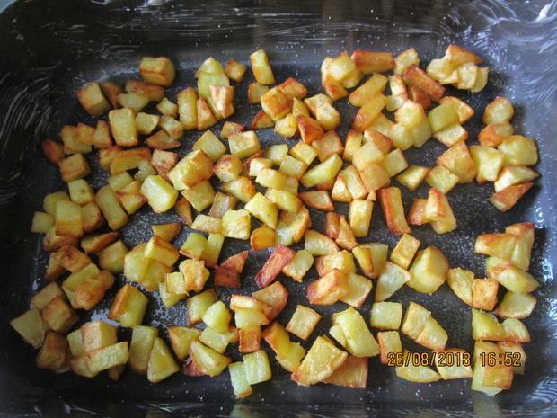 hackauflauf aus: zucchini, paprika, tomaten und kartoffeln - Rezept - Bild Nr. 6250