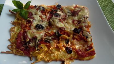 Spaghetti-Pizza - Rezept - Bild Nr. 2