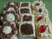 Butterkekse mit Schokolade - Rezept - Bild Nr. 6241
