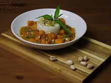 Kürbis-Bohnen-Tomaten-Curry - Rezept - Bild Nr. 2