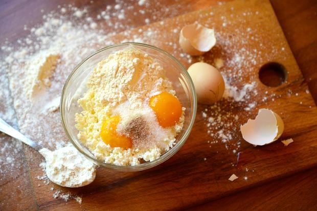 Ukrainische Quarkküchle - Syrnyky / Quark - Pancakes - Rezept - Bild Nr. 6242