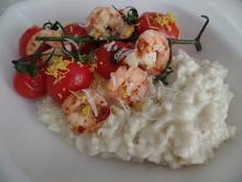 Risotto mit Garnelen und  Tomaten - Rezept - Bild Nr. 6241