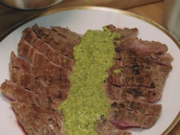 Flanksteak mit Salsa mit Frankfurter Soße (Sebastian Lege) - Rezept - Bild Nr. 2
