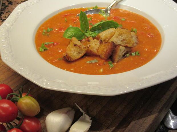 Suppen: Bruschetta-Suppe - Rezept - Bild Nr. 6241