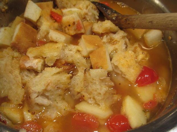 Suppen: Bruschetta-Suppe - Rezept - Bild Nr. 6245
