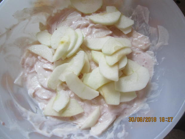 salat: rettich und äpfel aus dem garten müssen weg - Rezept - Bild Nr. 6249