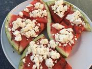 Gegrillte Wassermelone mit Schafskäse - Rezept - Bild Nr. 6241